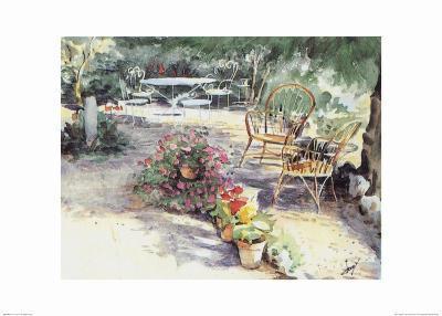 Jardin 7--Art Print
