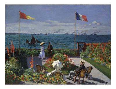 Jardin a? Sainte-Adresse, 1866/1867-Claude Monet-Art Print