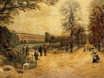 Jardin des Plantes, Paris-Fernand Auguste Besnier-Giclee Print