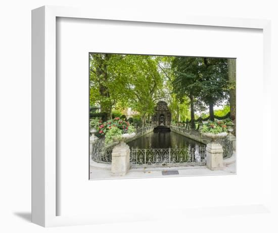 Jardin Du Luxembourg and Fountaine de L'Observatoire-Sylvia Gulin-Framed Photographic Print