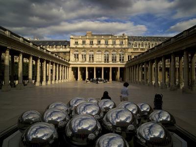 Jardin Du Palais Royal in Paris-Chris Hill-Photographic Print
