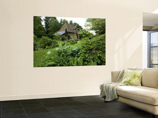 Jardin Du Pays D'Auge Plant Nursery and Public Gardens Near Cambremer-Barbara Van Zanten-Giant Art Print
