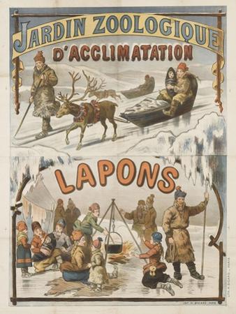 Jardin zoologique d'acclimatation, Lapons