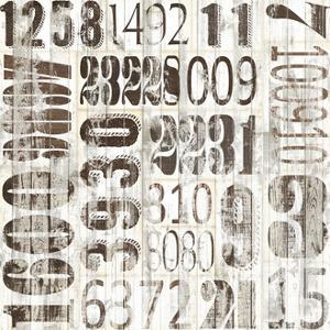 Weathered Numbers II by Jarman Fagalde