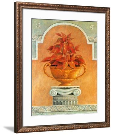 Jarrones Con Plantas II-Javier Fuentes-Framed Art Print