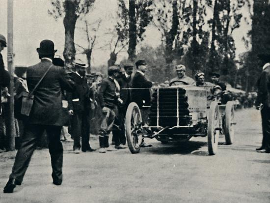 'Jarrott arrives at Bordeaux in the Race of Death', 1937-Unknown-Photographic Print