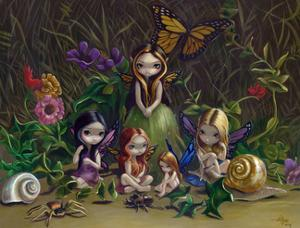 A Gathering of Faeries by Jasmine Becket-Griffith