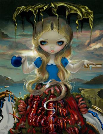 Alice in a Dali Dress by Jasmine Becket-Griffith