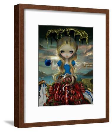 Alice in a Dali Dress