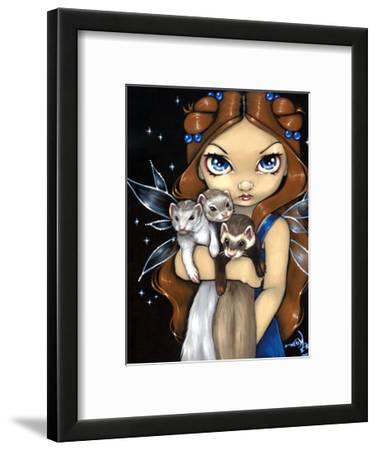 Armful of Ferrets - Ferret Art