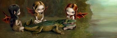 Befriending an Alligator