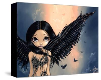 Black Winged Angel (Gothic Angel Fairy)