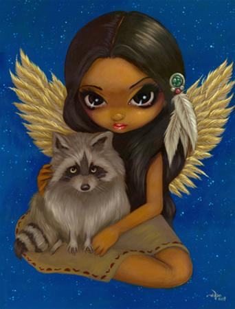 Brother Raccoon by Jasmine Becket-Griffith
