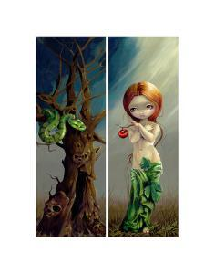 Eve and the Tree of Knowledge by Jasmine Becket-Griffith