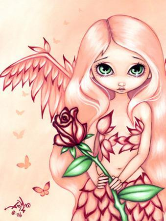 Pale Rose - an Angel Fairy