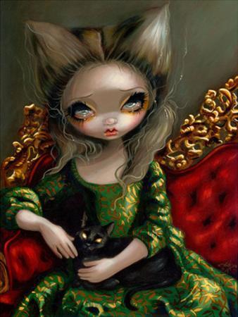 Princess with a Black Cat
