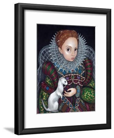 Queen Elizabeth I and an Ermine - a Tudor Portrait