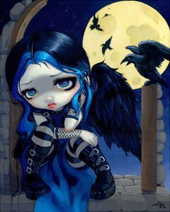 The Whispered Word Lenore by Jasmine Becket-Griffith