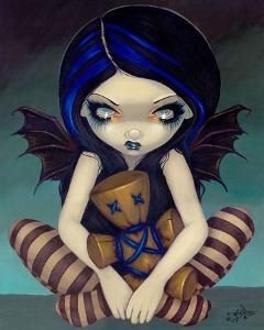 Voodoo In Blue by Jasmine Becket-Griffith