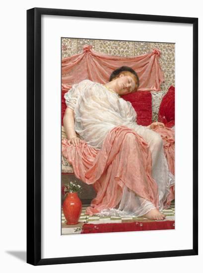 Jasmine-Albert Joseph Moore-Framed Art Print