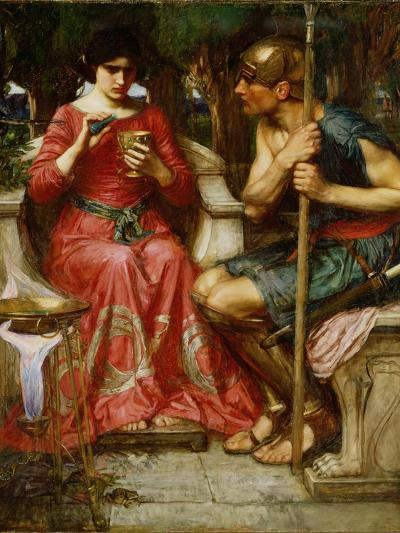 Jason and Medea, 1907-John William Waterhouse-Giclee Print