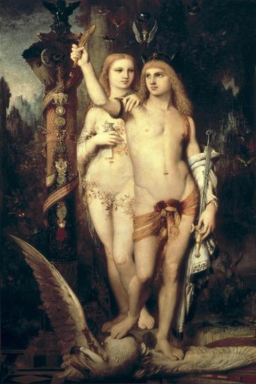 Jason and Medea-Gustave Moreau-Art Print