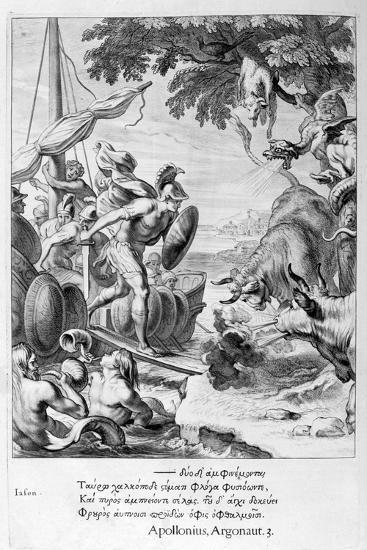 Jason and the Argonauts, 1655-Michel de Marolles-Giclee Print