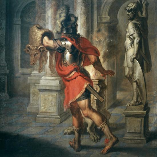 Jason and the Golden Fleece (Greek Hero Who Exchanged Fleece for His Kingdom), 181x195cm-Erasmus Quellinus-Giclee Print