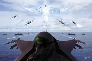 Angels Overhead 1 by Jason Bullard