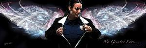 Answering the Call (Policewoman) by Jason Bullard