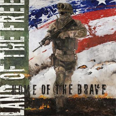 Gun No Greater Love by Jason Bullard Soldier Flag Military Art Print Poster