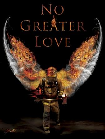 Amazing No Greater Love Fireman