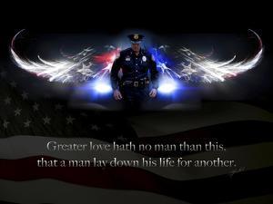 No Greater Love Police by Jason Bullard