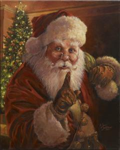 Santa Shhhh by Jason Bullard
