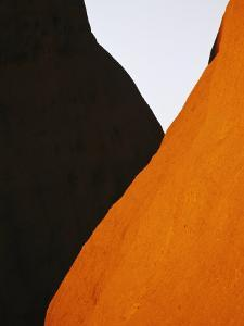 Abstract of Rock Formations in Uluru National Park by Jason Edwards