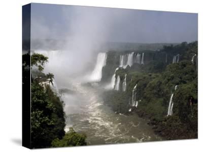 Monstrous Iguazu Waterfalls Cascade into a Subtropical Rainforest, Iguazu National Park, Argentina
