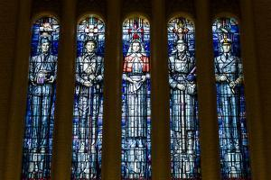 Stained Glass Windows in the Hall of Memory of the Australian War Memorial by Jason Edwards
