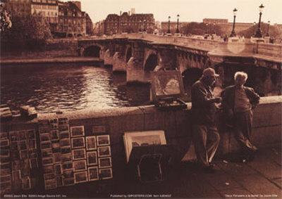 Dieux Parisiens a la Seine