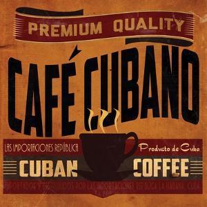 Cuban Coffee Sq by Jason Giacopelli