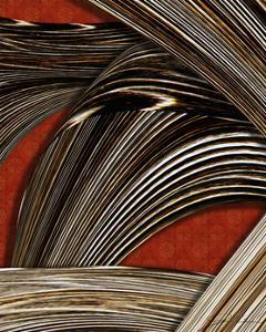 Tangle Tile II by Jason Higby