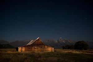 An Old Barn on Mormon Row, Antelope Flats, Grand Teton National Park, Wyoming by Jason J. Hatfield