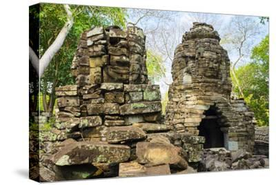 Banteay Chhmar, Ankorian-Era Temple Ruins, Banteay Meanchey Province, Cambodia, Indochina