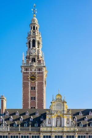 Centrale Bibliotheek (Central Library), Leuven, Flemish Brabant, Flanders, Belgium, Europe by Jason Langley