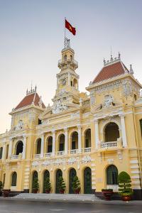 Ho Chi Minh City Hall (Ho Chi Minh City People's Committee), Ho Chi Minh City (Saigon), Vietnam by Jason Langley