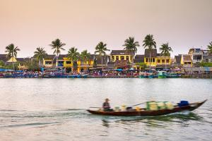 Hoi An Ancient Town on the Thu Bon River, Quang Nam Province, Vietnam by Jason Langley