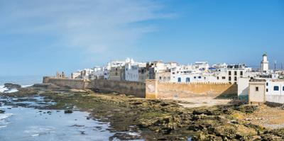 Medina old town, protected by 18th-century seafront ramparts, Skala de la Kasbah, Essaouira, Marrak by Jason Langley