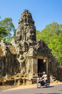 North gate of Banteay Kdei temple, Angkor, UNESCO World Heritage Site, Siem Reap Province, Cambodia by Jason Langley