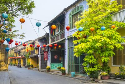 Old Buildings in Hoi an Ancient Town, Hoi An, Quang Nam Province, Vietnam, Indochina by Jason Langley