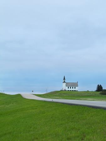 North Dakota, Carrington, Built in 1919 and Closed in 1969, the James River Lutheran Church