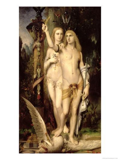 Jason, or Jason and Medea, 1865-Gustave Moreau-Giclee Print
